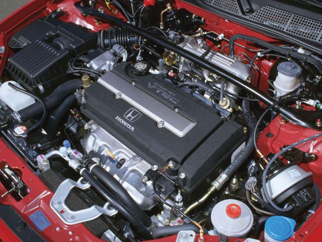 2000 Honda Civic Si Engine